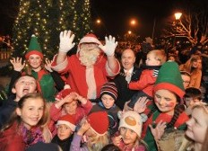 THE MAGIC OF CHRISTMAS COMES TO KINSALE