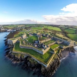 Charles Fort, Kinsale. Courtesy of AirCam Aerial Photography http://www.aircamireland.ie/