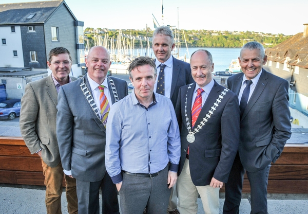 Pictured at the launch of a 'A Postcard from Kinsale', a new marketing video for Kinsale at the Yacht Club were new Kinsale Chamber members Deirdre Delaney and Leona Robins from 9 Market Street Restaurant. Picture. John Allen