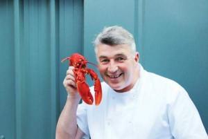 Martin Shanahan of Fishy Fishy Restaurant getting into the Midsummer Madness mood!