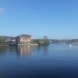 Lovely bright afternoon in Kinsale!