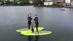 Stand Up Paddleboarding with Atlantic Offshore Adventures