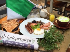 St.Patrick's Day Lemon Leaf Breakfast Special