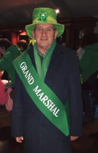 Charles Henderson, Grand Marshal, Kinsale St. Patricks Day Parade 2016