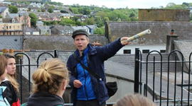Barry Moloney from Don & Barry's Historical Walking Tour