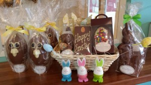 Selection of handmade chocolate gifts from The Old Bank House.