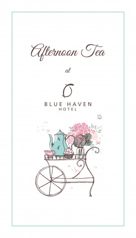 Afternoon Tea at The Blue Haven Hotel
