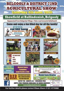 Belgooly show flier