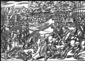 battle of kinsale illustration