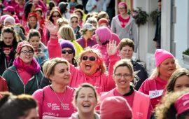 Sharon Crosbie, Brand Ambassador Kinsale Pink Ribbon Walk