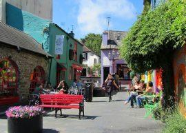 Market Place Kinsale by Richard Bradfield