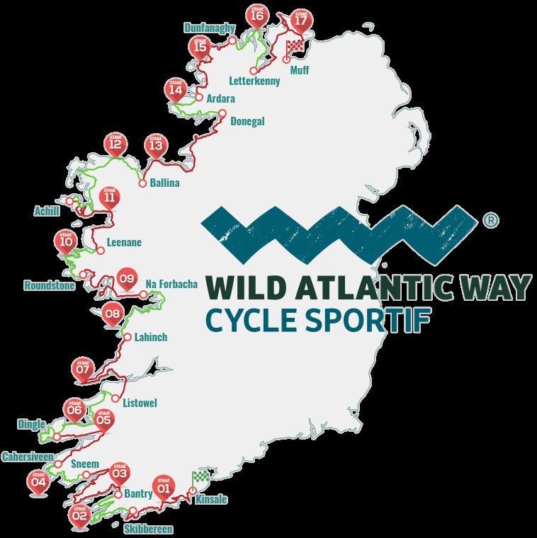 Skibbereen Ireland Map.2017 Wild Atlantic Cycle Sportif Kinsale To Skibbereen Kinsale