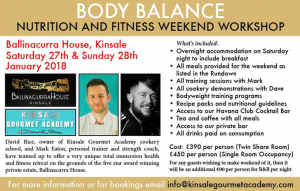 Body Balance Nutrition & Fitness Weekend Workshop - Kinsale Chamber of  Tourism & Business