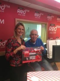 Kinsale Chamber Marketing Consultant Helen Kelleher with Neil Prendeville at RedFM