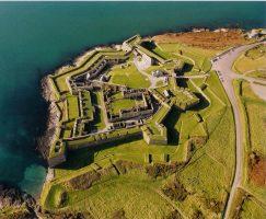 Charles Fort Aerial - landward Eastern