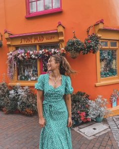 Roz Purcell in Kinsale